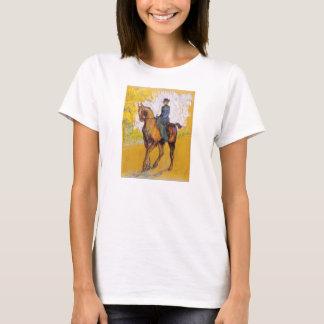 Toulouse-Lautrec Woman on Horse T-shirt