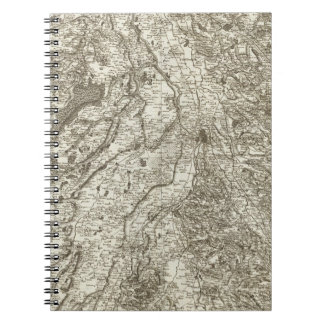 Toulouse Spiral Notebook
