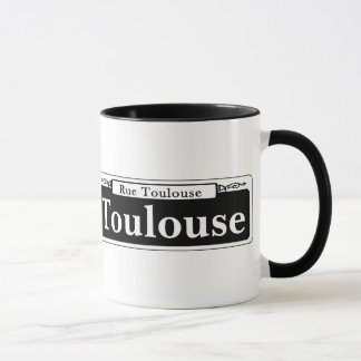 Toulouse St., New Orleans Street Sign Mug