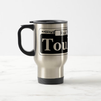 Toulouse St., New Orleans Street Sign 15 Oz Stainless Steel Travel Mug