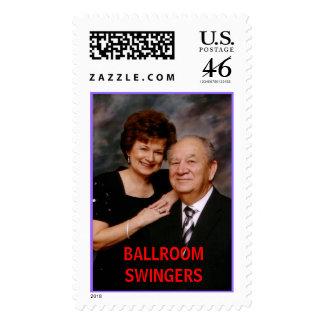 Toups BALLROOM SWINGERS Stamp