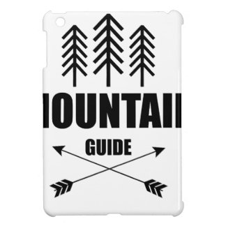 Tour and Adventure, Mountain Guide iPad Mini Cover