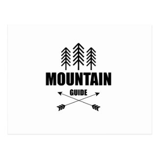 Tour and Adventure, Mountain Guide Postcard