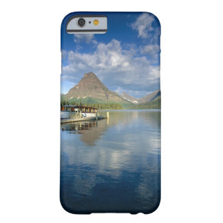 Tour Boat Docked at Two Medicine Lake in Glacier Barely There iPhone 6 Case