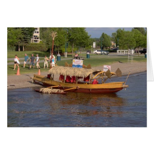 Tour Boat on Lake Memphremagog - Note Card