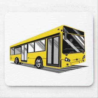 tour bus coach transport mousepads