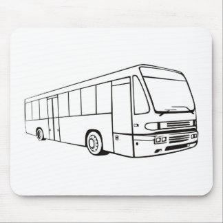 tour bus coach transport mousepad