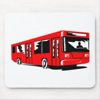 tour bus coach transport mouse pads