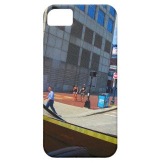 Tour Bus Window views of Boston City America USA iPhone SE/5/5s Case