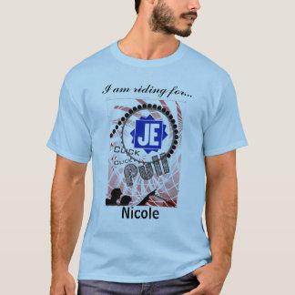 Tour de Cure Click Click Pull Jacobs Nicole T-Shirt