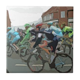 Tour de France 2014 Azulejo Cuadrado Pequeño