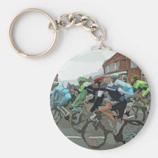 Tour De France 2014 Basic Round Button Keychain