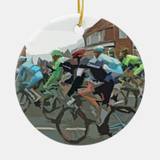 Tour De France 2014 Ceramic Ornament