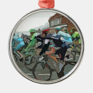 Tour De France 2014 Metal Ornament