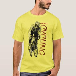 Tour De France Champion Color Cycling Design T-Shirt