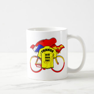 Tour de France champions Spain Yellow Jersey Coffee Mug