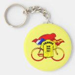 Tour de France champions Spain Yellow Jersey Key Chains