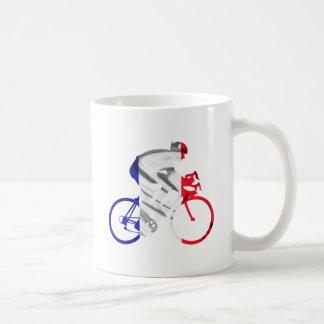 Tour de france cyclist coffee mug