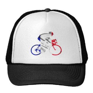 Tour de france cyclist mesh hat
