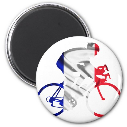 Tour de france cyclist magnet