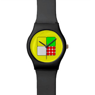 Tour de France Jerseys 3 Yellow Wristwatch