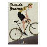 Tour De France Postcard