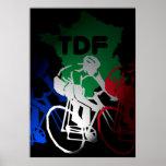 Tour de France que completa un ciclo el poster