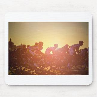 Tour De France Sunset Mouse Pad