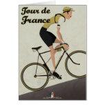 Tour de France Tarjeta De Felicitación