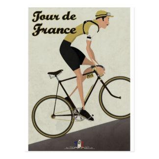 Tour de France Tarjeta Postal