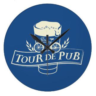 Tour de Pub Wall Clock