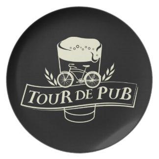 Tour de Pub Dinner Plate