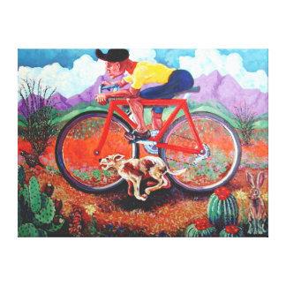 Tour de Tucson Canvas Print