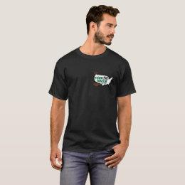 Tour Divide Elevation Profile t-shirt