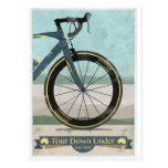 Tour Down Under Bike Postcard