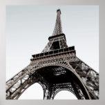 Tour Eiffel Black & White Poster