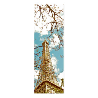 Tour Eiffel Double-Sided Mini Business Cards (Pack Of 20)