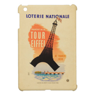 Tour Eiffel loterie nationale Cover For The iPad Mini