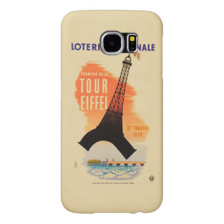 Tour Eiffel loterie nationale Samsung Galaxy S6 Case