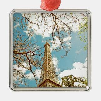 Tour Eiffel Metal Ornament