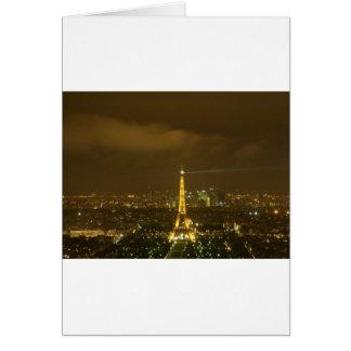 Tour Eiffel, Paris Card