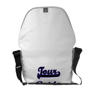 Tour Guide Classic Job Design Courier Bag