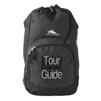 Tour Guide Extraordinaire Backpack
