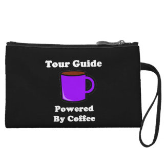 """""""Tour Guide"""" Powered by Coffee Wristlet Wallet"""