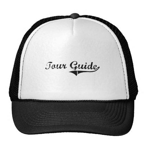 Tour Guide Professional Job Trucker Hat