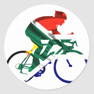 Tour of South Africa Classic Round Sticker