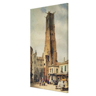 Tour Saint-Jacques Canvas Print