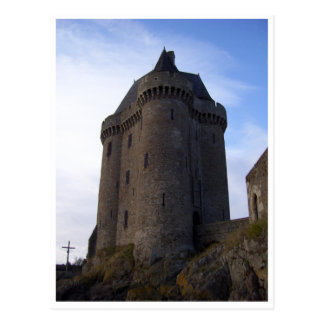 Tour Solidor, Brittany, France Postcard