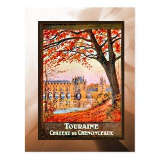 Touraine Chateau de Chemonceaux Postal