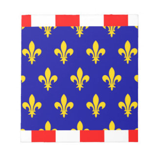 Touraine ( France ) Flag Note Pads